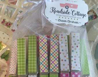 14  Colorful Birthday Clothes pins
