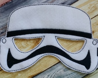 Trooper Felt Mask - Party Favors * Birthday Parties * Dress Up * Halloween * Playtime