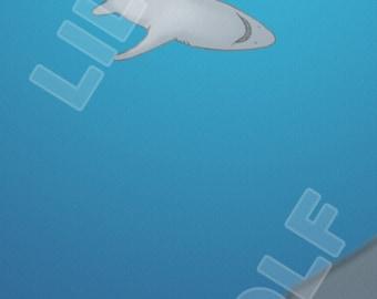 "Bookmark ""Sharks"""