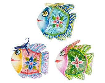 Happy Fish Wall Ornament
