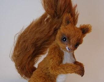 Eichhörnchen selber nähen Ebook Anleitung mit 46 Seiten und Schnittmuster