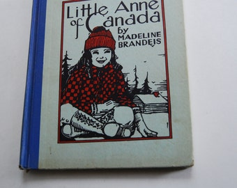 Vintage Children's Book, Little Anne of Canada