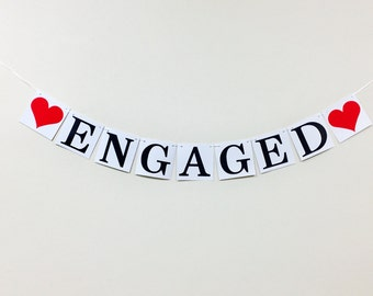 Engaged Heart Banner