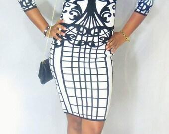 Preloved - Bebe Bodycon Dress