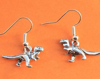 T-Rex earrings || Jurassic dinosaur geek hipster emo trendy earrings