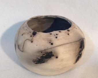 Raku bowl 4
