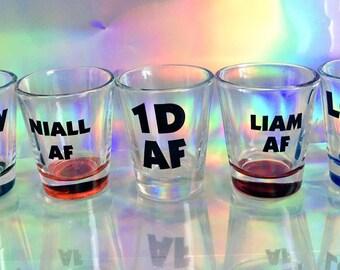One Direction Shot Glass Set (5)