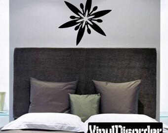 Snowflakes Vinyl Wall Decal Or Car Sticker - Mv032ET