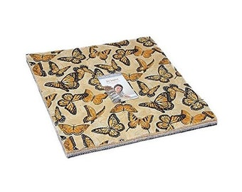 Bee Inspired Layer Cake, 42 - 10In Precut Fabric Quilt Squares Bydeb Strain For Moda