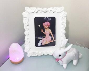 Bunny Whisperer Framed Print