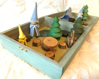 Woodland Gnome Creative Play Box for Sara P