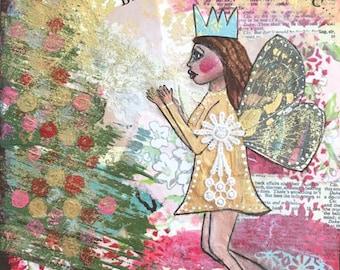 Christmas fairy queen