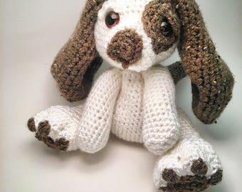 Dog stuffed animal. Stuffed Dog- Stuffed Animal Dog- Crochet Dog Plushie. Puppy. Stuffed puppy. Stuffed puppy dog