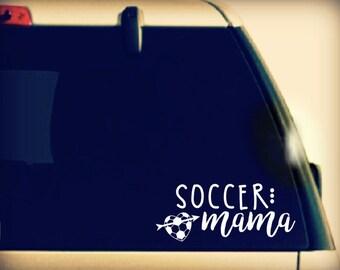 Soccer Mom Decal, Soccer Mom Car Decal, Soccer Mom Sticker, Soccer Mom vinyl car sticker, Soccer Mom Vinyl, Soccer Mom vinyl car decal,