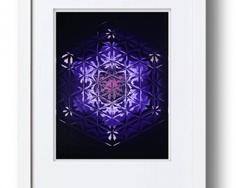 Purple Mandala Art Prints - Indigo Child