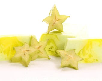 Soap Carambola aroma Handmade Wedding gift Birthday gift Valentine's Day gift Romantic gift Cristmas gift Bridesmaids' gifts Cool gift