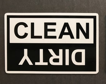The Simplest Clean or Dirty Dishwasher Magnet