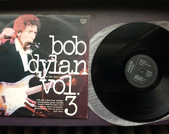 Bob Dylan the Little White Wonder Vol 3 BUHAY Italian LP 8003