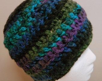 Turquoise Beanie Blue Beanie Blue Crocheted Beanie Turquoise Blue Crocheted Beanie Green Beanie Mauve Beanie Black Beanie