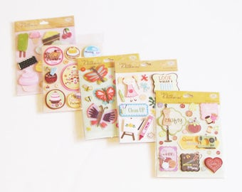 Scrap Book Stickers,Special Occasion Stickers,Appliques,Decals, Card Making Supplies