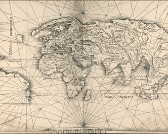 Poster, Many Sizes Available; Map Of The World 1513