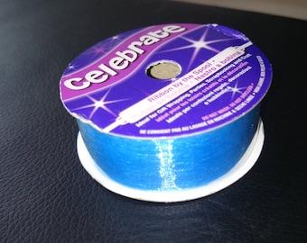 Ribbons nylon blue 20 mm length 1 meter