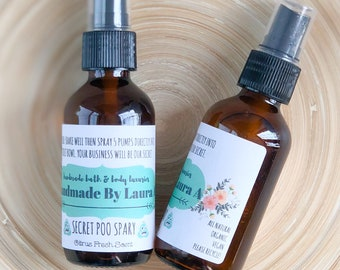 Secret Poo Spray - poo pourri Spray - Spray Before You Go - Bathroom Spray - Air Freshener