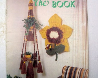 Vintage Macrame Pattern Book for Acrylic Fiber Cord