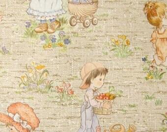 Vintage Wallpaper Moony Meadow per meter
