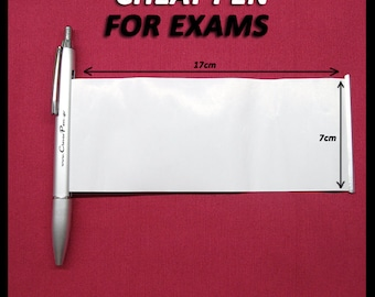 Cheat pen for exams/notes _ roll out clever pen