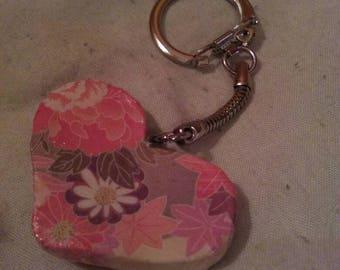 Keychain heart box