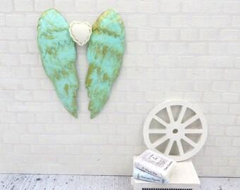 Aqua angel wings in 1:12 scale