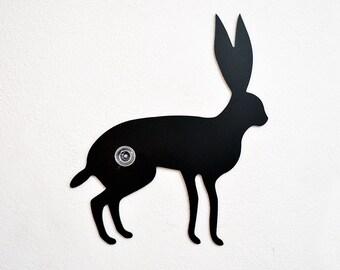 Hare Silhouette -Wall Hook  / Coat Hook / Key Hanger