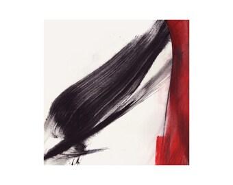 37b - framed abstract art