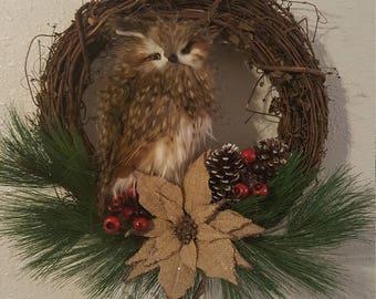 Have an Owl Christmas OAK