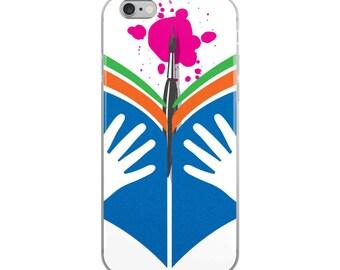 Design Read Create iPhone Case