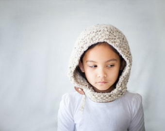 Hood Hat, Hoodie Hat, Hood Cowl, Winter Hat