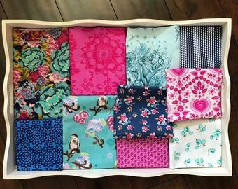 Boho Fusion 32x32 Minky Blanket Made to Order