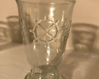 Vintage 1950's juice glasses