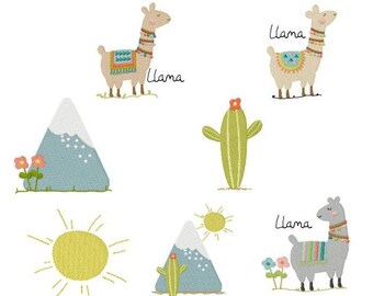 Llamas  BD 668