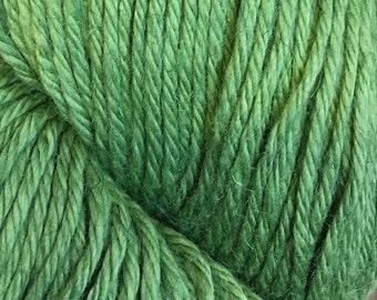 Green Tea Cascade Hampton Pima Cotton and Linen DK Weight Yarn 273 yards color 10