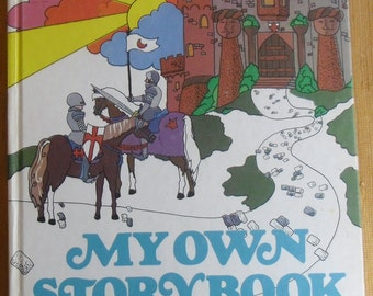 Vintage Children's Book - My Own Storybook, A Book of Stories and Poems, Banner Press Grolier Ltd. 1977, Bedtime Stories
