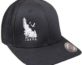 Idaho Wilderness Flex Fit Mesh-back Hat