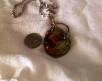 Jewelry, wire wrapped, necklace