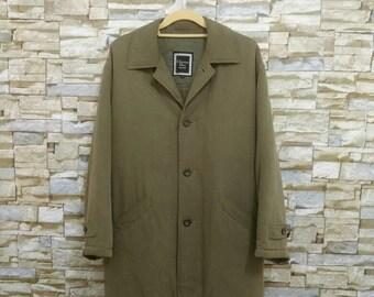 Vintage Christian Dior Jacket Long Jacket Coat Dior Monsieur Medium