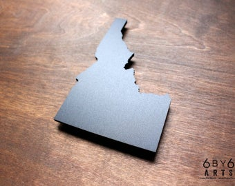 Idaho State Chalkboard Magnet   Small Chalkboard   State Shapes   Gifts From Home   Pacific Northwest  