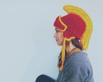 Trojan Helmet Beanie