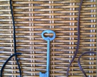 Skinny Skeleton Key Necklace