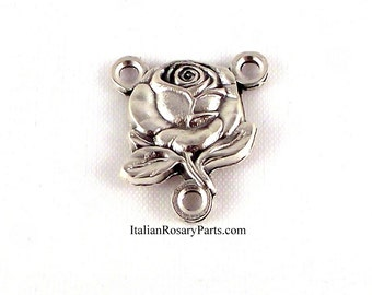 Virgin Mary Rose Miraculous Medal Rosary Center | Italian Rosary Parts