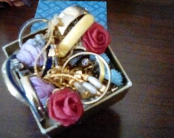 Avon Box Full of Earrings